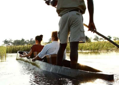 Mokoro trips on an Okavango Delta safari