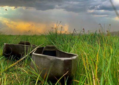Mokoro trips are popular on an Okavango Delta safari
